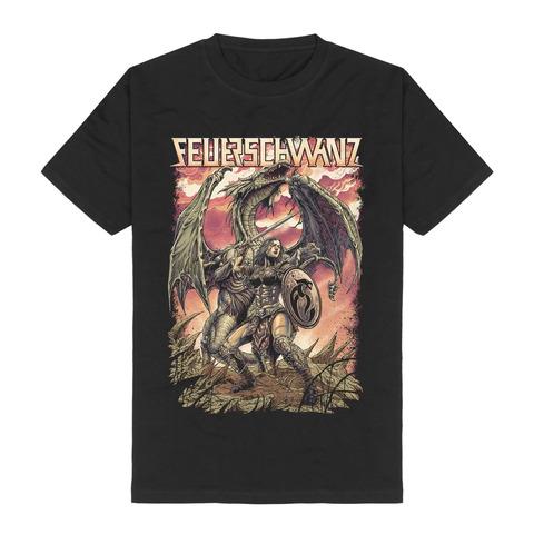 √Schildmaid von Feuerschwanz - T-Shirt jetzt im Feuerschwanz Shop