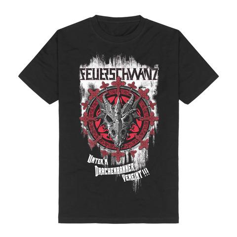 √Drachenbanner von Feuerschwanz - T-Shirt jetzt im Feuerschwanz Shop