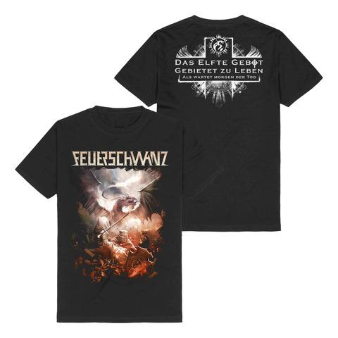 √Das Elfte Gebot von Feuerschwanz - T-Shirt jetzt im Feuerschwanz Shop