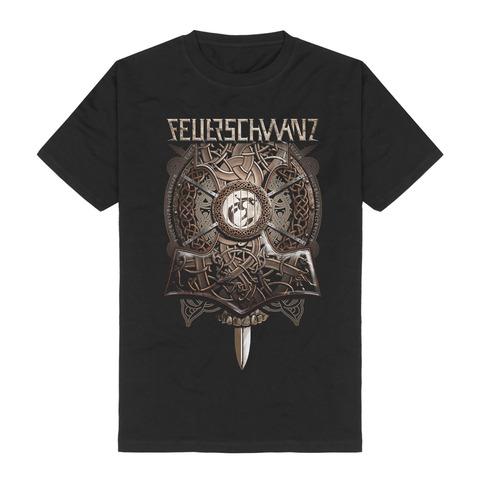 Thors Hammer von Feuerschwanz - T-Shirt jetzt im Feuerschwanz Shop