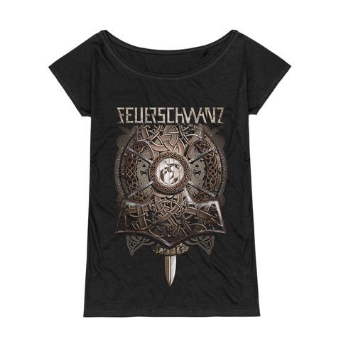 Thors Hammer von Feuerschwanz - Girlie Shirt jetzt im Feuerschwanz Shop