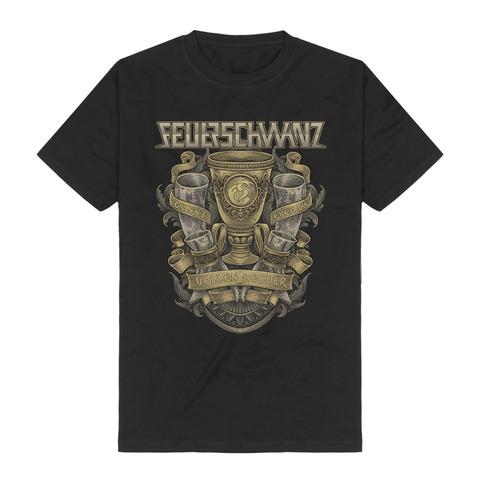 Gönnt euch by Feuerschwanz - t-shirt - shop now at Feuerschwanz store