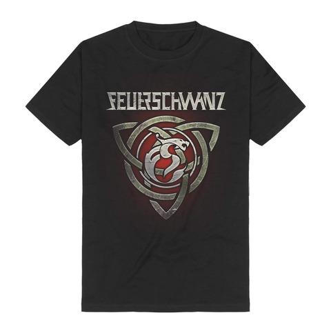 Triquetra by Feuerschwanz - t-shirt - shop now at Feuerschwanz store
