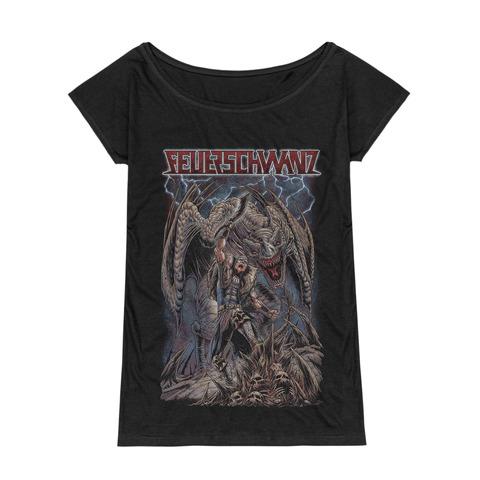 Hauptmann by Feuerschwanz - Girlie Shirt - shop now at Feuerschwanz store
