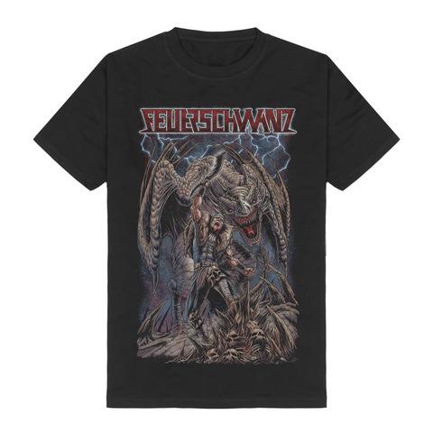 Hauptmann by Feuerschwanz - t-shirt - shop now at Feuerschwanz store