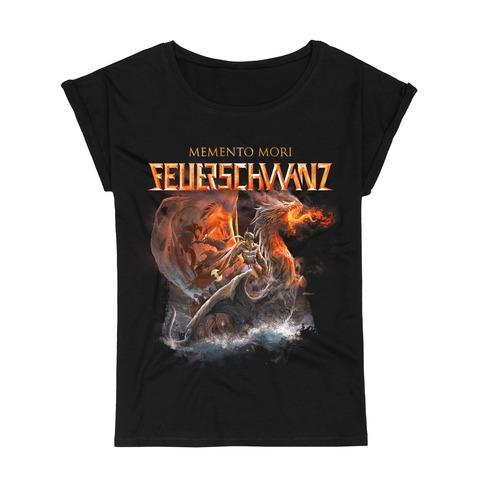 Memento Mori Cover by Feuerschwanz - Girlie Shirt - shop now at Feuerschwanz store