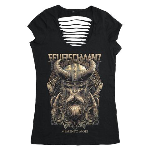 Warrior by Feuerschwanz - Girlie Shirt - shop now at Feuerschwanz store